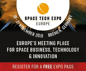 Visit us at Space Tech Expo Europe 2019
